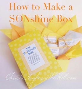 How to Make a Sonshine Box