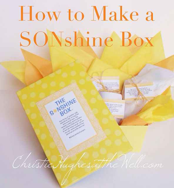 How to Make a SONshine Box {and a FREE Printable!}