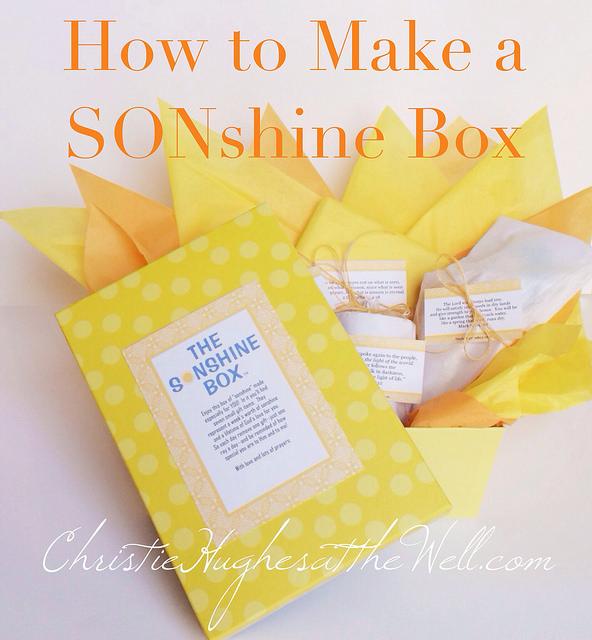 How to Make a SONshine Box {and a FREEPrintable!}